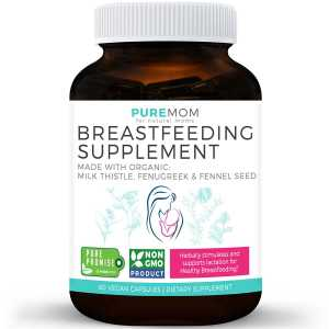 pure moms organic breastfeeding supplement