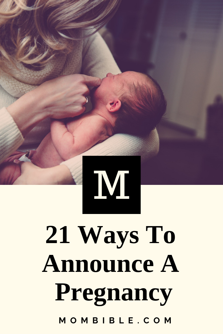 21 Ways To Announce A Pregnancy