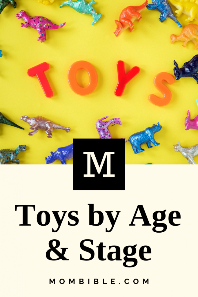 Types of Toys for Different Age Groups